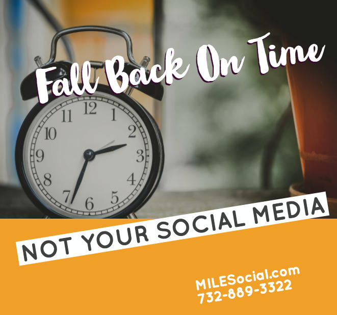 fall back on time not social media
