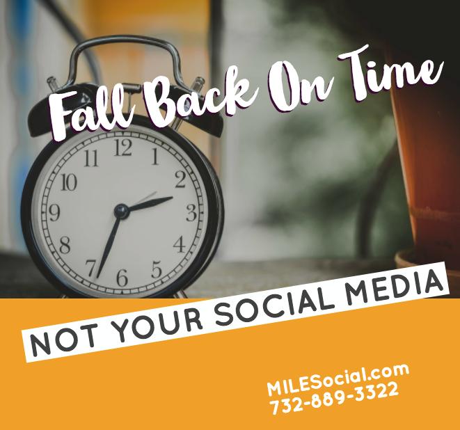 fall back on time not social media