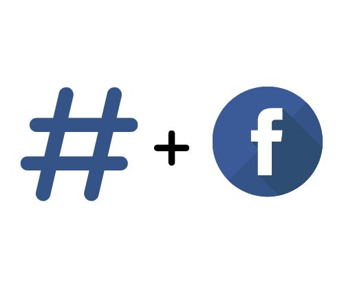 Facebook hashtags mile social